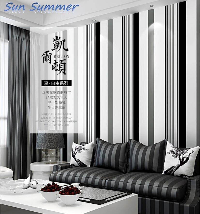 453698ec1b8 TV Fondo papel de pared y salón moderno minimalista no tejido atmósfera  moda gris blanco y negro papel pintado a rayas en Fondos de pantalla de  Mejoras para ...