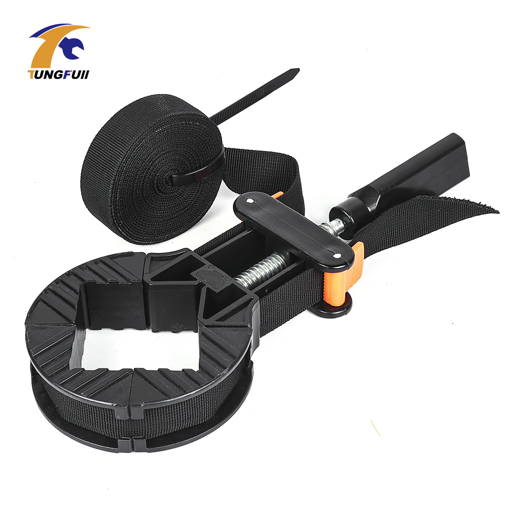Multi-Function clamps for woodworking tools Belt Clamp Quick Adjustable Band Clamp Angle Clip With 4M Long Belt