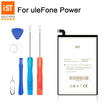 2017 New 100% IST Original Power Mobile Phone Battery For uleFone Power Real Capacity 6050mAh High Quality Replacement Battery