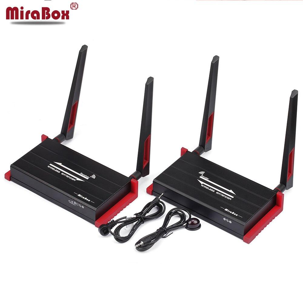 Wireless HDMI Trasmettitore Ricevitore 60 m 5 ghz Supporto 1080 p Rete Locale-out con Telecomando IR di Controllo Multi -canali HDMI Extender