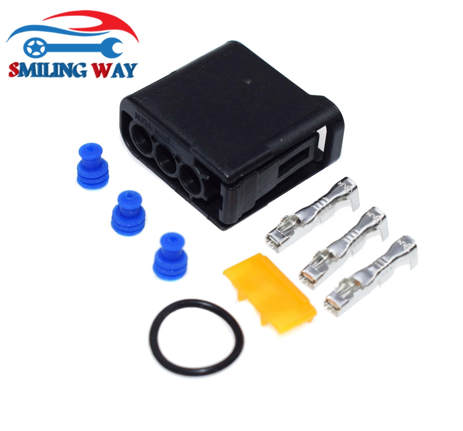 SMILING WAY# Ignition Coil Connector Harness Terminal Plug Seals Kit For  Subaru Impreza WRX STi EJ20 EJ25 EZ30 2002-2013