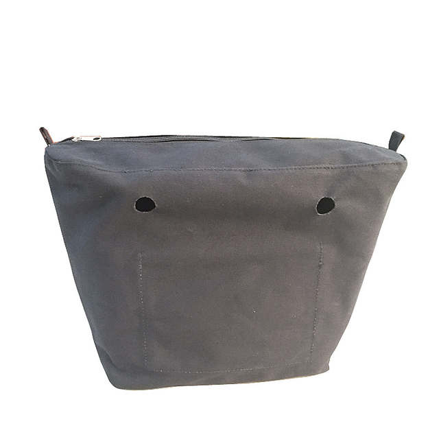 1b3e28a087 1 pcs canvas  pu leather inner bag insert for obag classic mini bag 2017 new