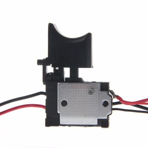 Image 4 - 電気ドリル防塵速度制御プッシュボタントリガーパワーツール DC 7.2 24 220v スイッチ