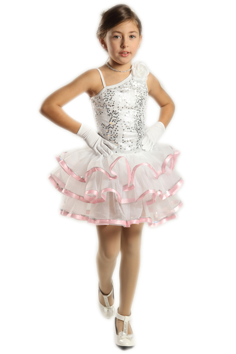 0cbcd9229 المهنية الباليه توتو ازياء اللباس للأطفال الفتيات الاطفال امرأة الجمباز  يوتار الأبيض Dancewear Balletpakje Meisje