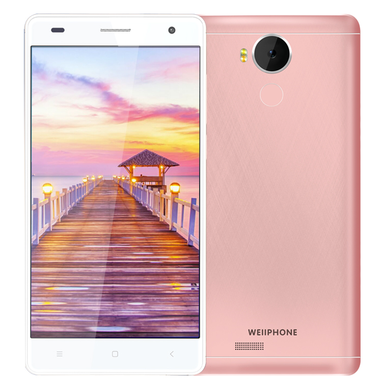 2017 NEW Product Wellphone V7 3 colors back camera 500W YUNOS system 2GB RAM 16GB ROM