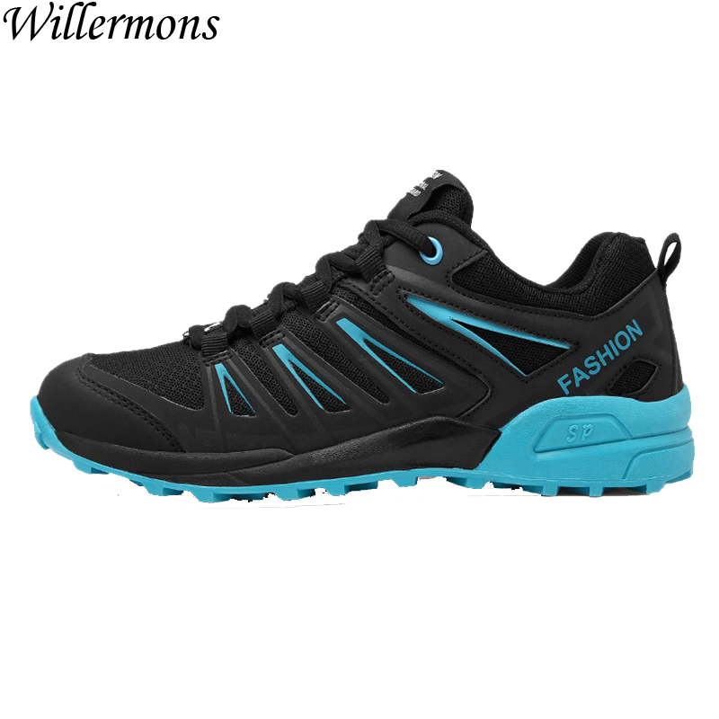 2017 Summer & Autumn Men's Outdoor Anti-slip Running Shoes Men Breathable Mesh Walking Sports Sneakers Chaussures Hombre купить