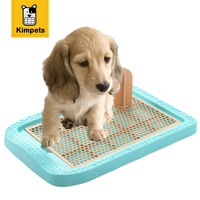 KIMHOME PET Hot Sale Dog Toilet With Guide Posts Indoor Dog Traning Tray Pet Potty Toilet