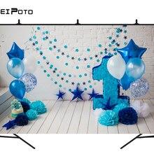 BEIPOTO девочки 1-й День рождения фон мальчик ребенок торт smash фотографии фон шар для украшения вечеринок фото стенд реквизит