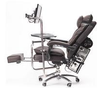 Бесплатная доставка кожаный компьютер. Игровые столы и стулья целый Интернет кафе офис может положить стопу стол стулья и столы
