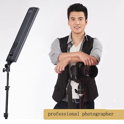 60W 240pcs LED 3000k-6000k White Yellow Color Photo Studio LED Lighting Stripe Photography Wand Diammer Switch Light Stand