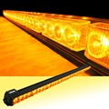 "12V or 24V 32 LED 36"" Amber Yellow Emergency Traffic Advisor Flash Strobe Light Bar Warning"
