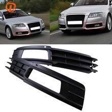 цена на POSSBAY Front Lower Bumper Grills Fog Light Lamp Grilles Cover for Audi A6 C6 Sedan/Avant 2008-2011 Car-styling