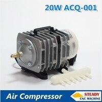 20W electromagnetic air pump compressor 220V for laser machine 25L/min