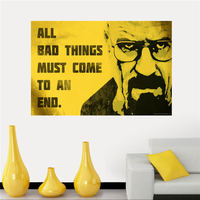 Personality Breaking Bad Silk Canvas Poster cloth for Home Decorative painting Art And Custom Print your image SQ0505-ZHH-02