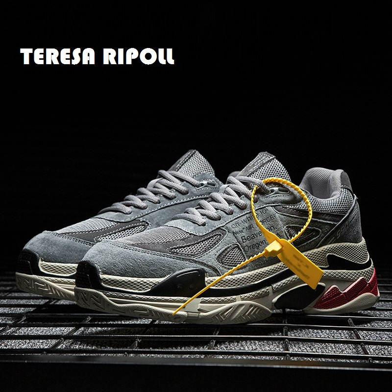 À Hommes Date Ripoll grey Sneakers Teresa Maille Mode Chaussures La Vache En Daim Plein 2019 Homme Loisir Respirant Air Lacets black De Course Beige KFT1l3Jc