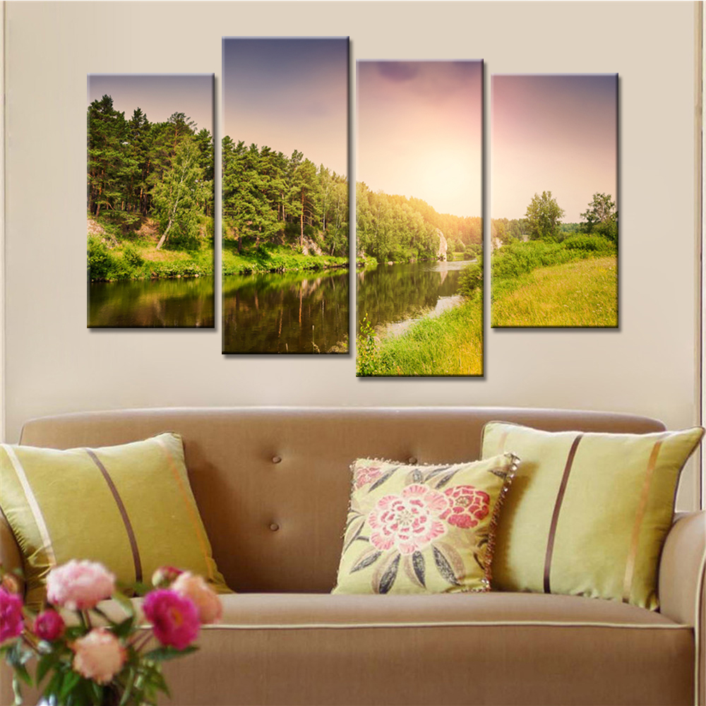 Online Buy Wholesale wall sunset from China wall sunset Wholesalers ...