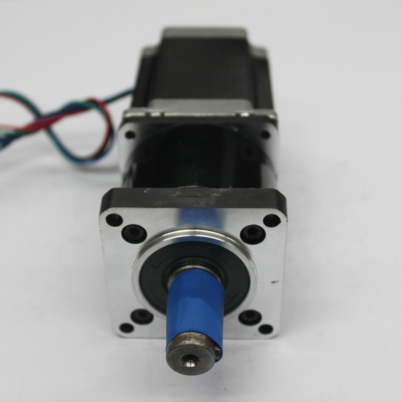 NEMA34 Ratio5:1 Stepper Motor 86*80mm 4NM 570Oz-in 4A 4 Wires with Planetary Gearbox Reducer Kit High Torque for CNCNEMA34 Ratio5:1 Stepper Motor 86*80mm 4NM 570Oz-in 4A 4 Wires with Planetary Gearbox Reducer Kit High Torque for CNC