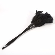 Soft Turkey Feather Duster Soft Cleaning Tools Duster Brush Handle For  Cleaning Car Fan Furniture Dust