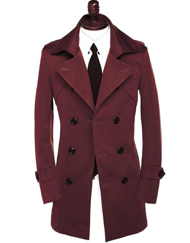 Compare Prices on Mens Red Trench Coat- Online Shopping/Buy Low ...
