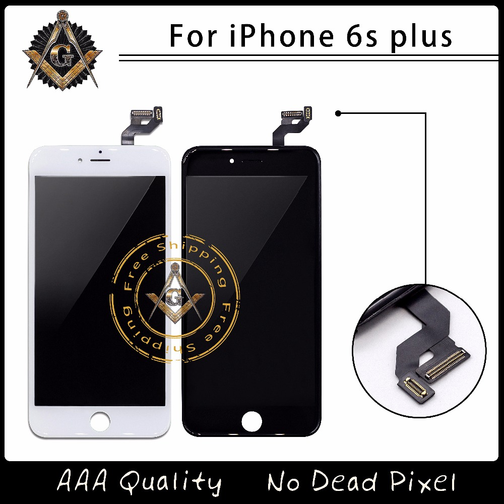3PCS/LOT No Dead Pixel LCD For iPhone 6S Plus LCD Display With Touch Screen Digitizer Assembly Free DHL Shipping DHL