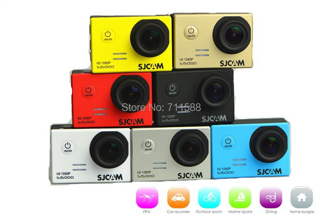 New Stock Original SJCAM SJ5000 Action Sport Camera Full HD Sports DV Waterproof Camera HD DVR Free Shipping
