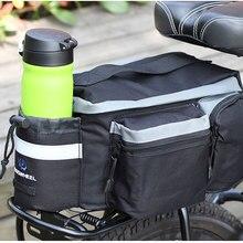 Multifunctional ROSWHEEL Mountain Bike Saddle Basket Bicycle Rear Rack Bag/Bolso Becicle Bicycle Pack Trunk Pannier Bicycle Bag