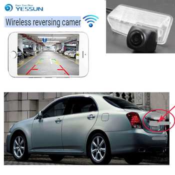 YESSUN For Toyota Crown for Majesta S180 S200 2003~2012 car NEW HD CCD Night Vision Backup camera  Rear View WIFI Camera