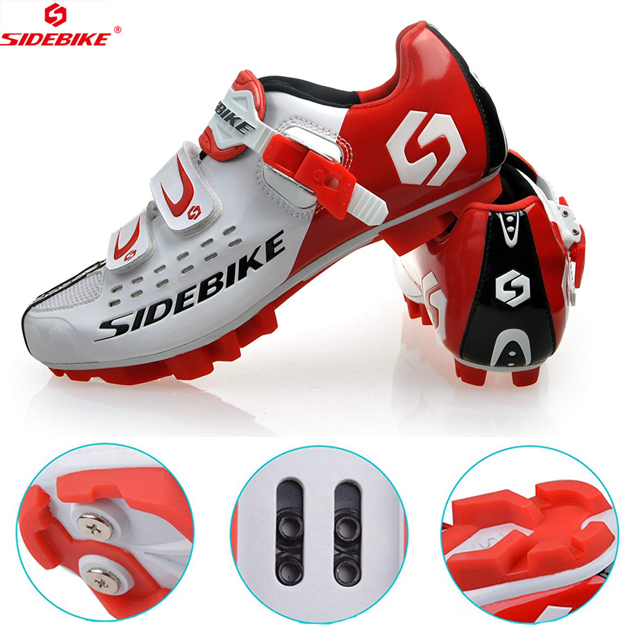 Stress Relief Toy Sidebike Men Women Cycling Shoes Road Bicycle Shoes Ultralight Self-locking Cycling Bike Shoes Sneaker Sapatos De Ciclismo Red