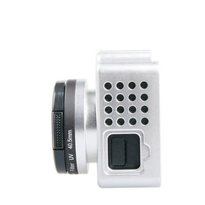 Image 3 - Cho Xiaomi Yi 4 k Phụ Kiện Nhôm Hợp Kim Kim Loại Nhà Ở Khung Trường Hợp Bảo Vệ + UV filter cho Xiao Yi 4 k action máy ảnh