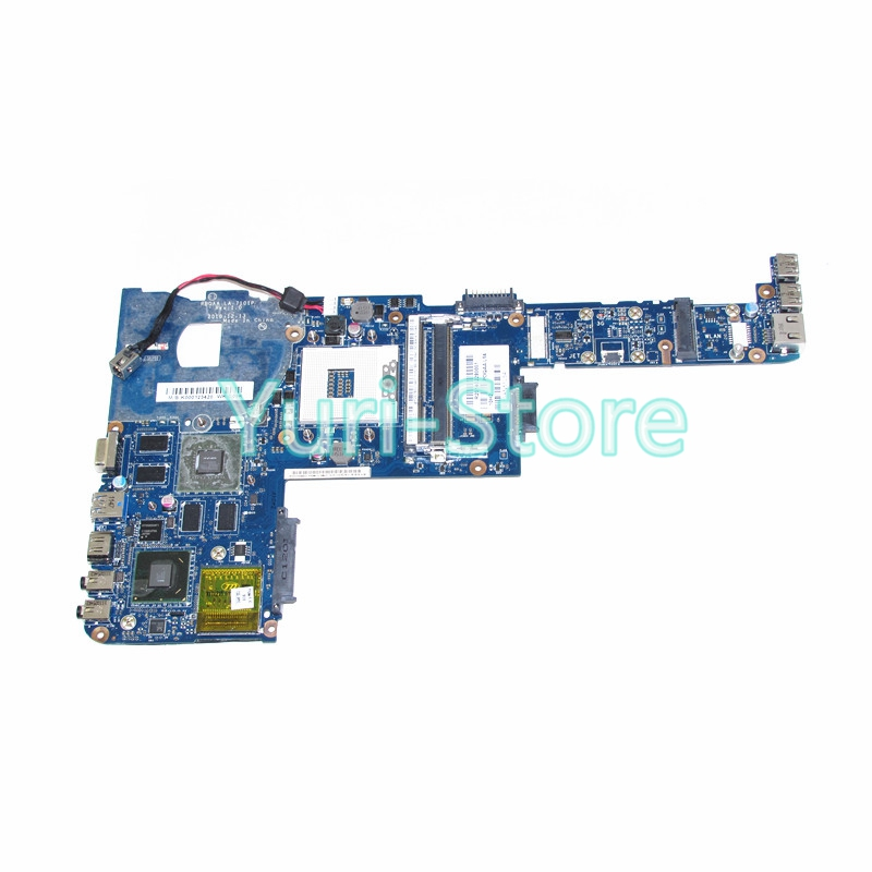 NOKOTION Laptop motherboard For Toshiba satellite P700 P745 PBQAA LA-7101P K000123420 Mainboard HM65 DDR3 GeForce GT525M GPU for lenovo laptop motherboard g570 piwg2 la 6753p hm65 ddr3 pga989 mainboard