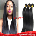 Straight Hair Weave Malaysian Synthetic Hair Bundles 1Pcs Black Straight Synthetic Hair Weft Hair Extension Free Shipping