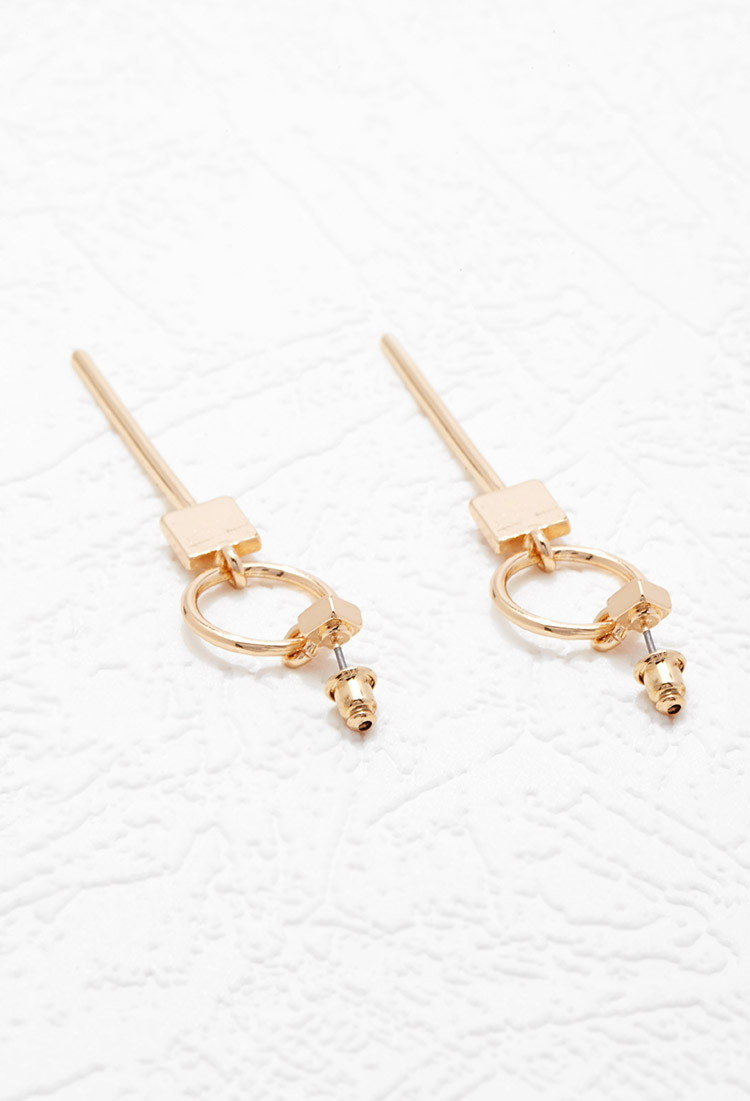 Δημοφιλή ρετρό σκουλαρίκια μόδας - Κοσμήματα μόδας - Φωτογραφία 4
