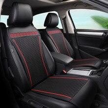 Geeaok кожа универсальное автокресло Чехлы для VW Passat Kia Ceed Лада Suzuki Grand Vitara Ford Focus 3 автомобильные Аксессуары Укладка