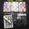 72 Colors 39000pcs EVA 2 6mm Mini Hama Beads Set Toy DIY Perler Beads Pegboard Kit