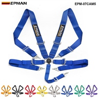 Epman Car 5 Point Racing Safety Harness Camlock 3Strap Seat Belt EPM 07CAM5