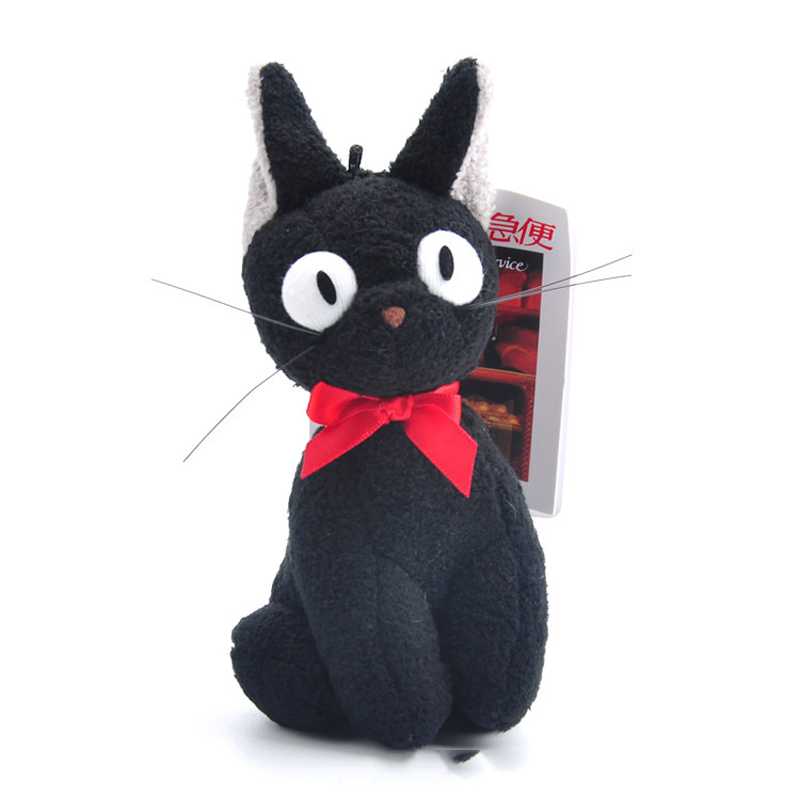 Toys & Hobbies ... Stuffed Animals & Plush ... 32794273650 ... 4 ... SJFC Kawaii Studio Ghibli Hayao Miyazaki Classic cartoon image Kiki's Delivery Service JiJi Cat Plush Stuffed Doll ...