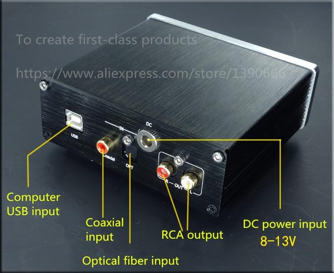 Fini AK4490 + AK4118 + XMOS Audio breeze wind SU4 optical fiber coaxial decoder DAC 24BIT 192K USB package цена