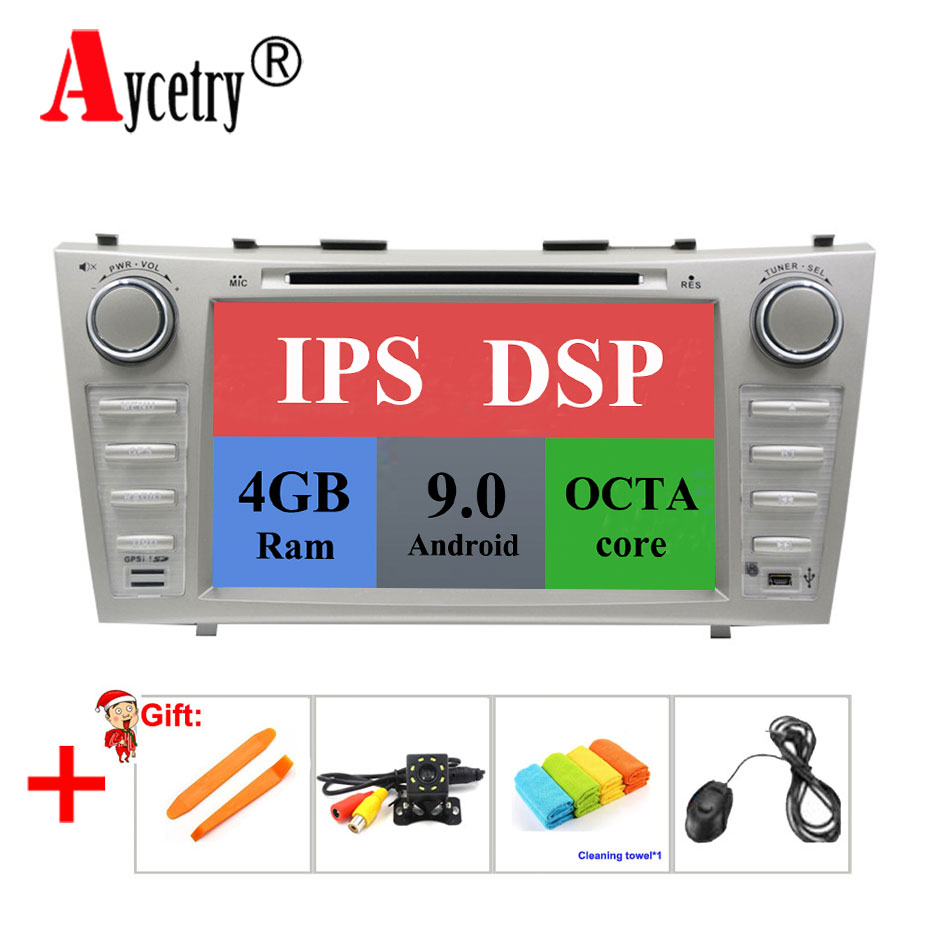DSP IPS For Toyota Camry 2007 2008 2009 2010 2 din Android 9 Car radio multimedia