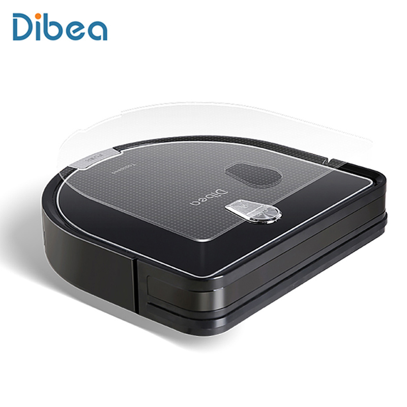 Dibea D960 Robot Vacuum Cleaner Smart Wet Mopping Robot Aspirador Edge Cleaning Technology Pet Hair Thin Carpets Robot Cleaner