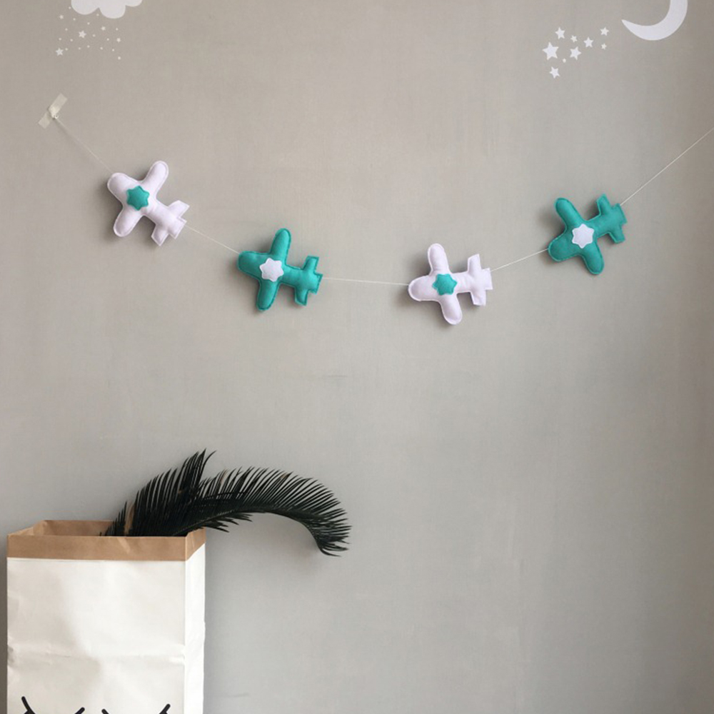 Baby Room Decoration Baby Bed Bumper Hanging Wall Room Decor Plane Soft Cotton Famous Brand Nordic Ins Style Baby Bumper 2019