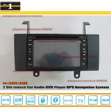 For LEXUS LS 400 1997~2000 – Car Radio Stereo CD DVD Player / HD Touch Screen Audio Video GPS Navigation System
