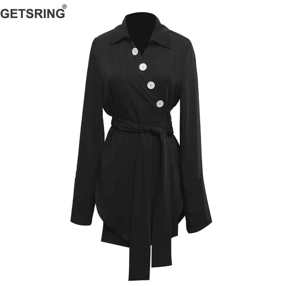 GETSRING, женские платья, асимметричное, кружевное, с v-образным вырезом, Бандажное, шифоновое платье, женское, необычное, черное, шифоновое платье, новинка 2019, сексуальное