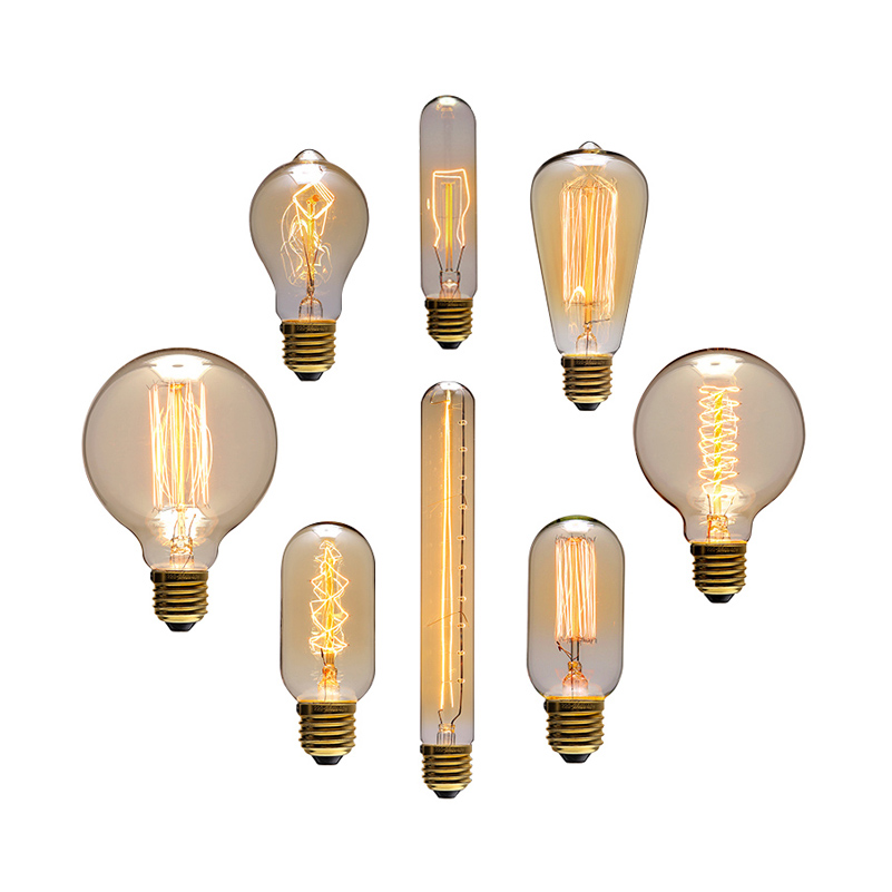 Wholesale price vintage creative edison bulb incandiscent light bulbs for decoration of living Cost of light bulb