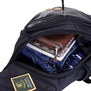 Image 5 - À prova dwaterproof água náilon masculino ombro único corpo cruz saco de viagem militar sling mochila peito volta pacote sacos do mensageiro alta qualidade