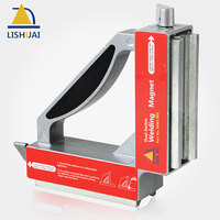 LISHUAI Dual Switch 90 Degree Square Magnet Squares On Off Strong Neodymium Magnetic Holder Clamp WM2