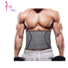 SEXYWG Gym Fitness Belt Men Women Waist Support Belt Sweat Corset Weight Loss Exercise Belts Brace Slimming Strap Waist Trainer(China)