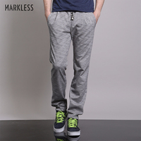 Markless Straight Joggers Sweatpants Men's Fashion Casual Thin Pants Male Plus Size 3XL Loose Breathable Streetwear Trousers