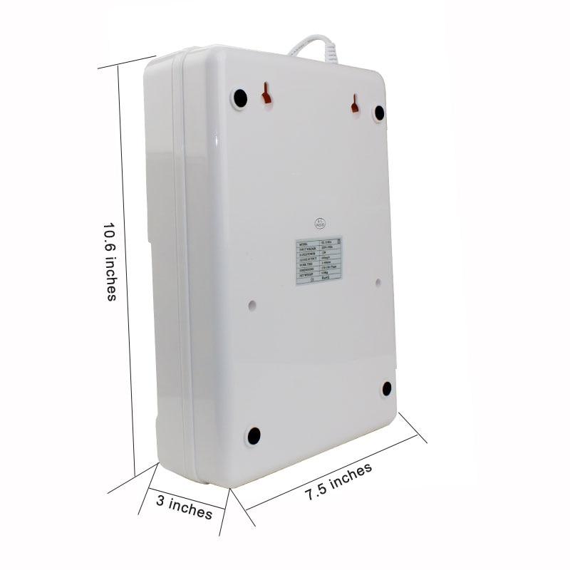 droshipping 600mg Ozone Generator Ozonator Wheel Timer Air Purifiers Oil Vegetable Meat Fresh Purify Air Water o3 Ozonizer