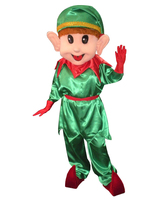 Adult Lovely Christmas Elf Mascot Costume Party Costumes
