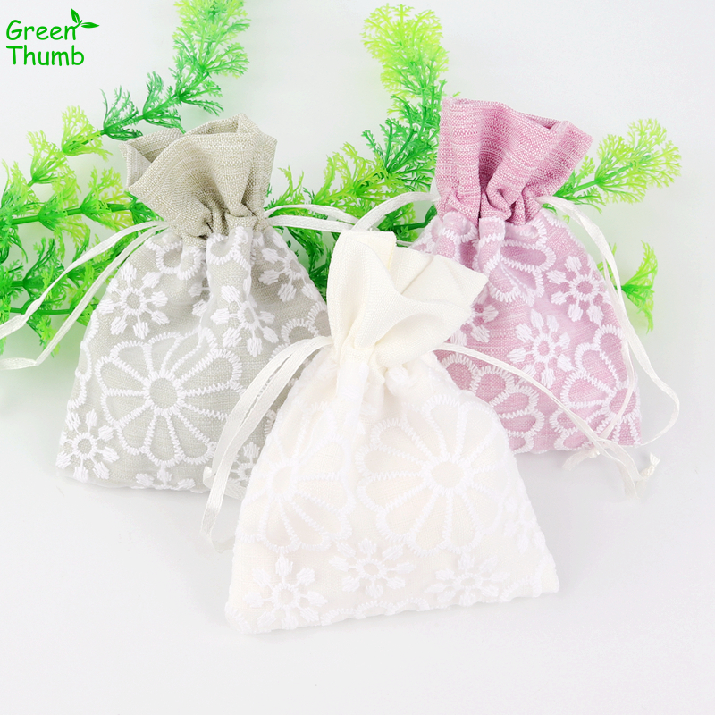 4pcs High Quality 12*9.5cm Drawstring Cloth Bag Lace Creative Gift Bag for Festive Gift Wrapping Decoration4pcs High Quality 12*9.5cm Drawstring Cloth Bag Lace Creative Gift Bag for Festive Gift Wrapping Decoration